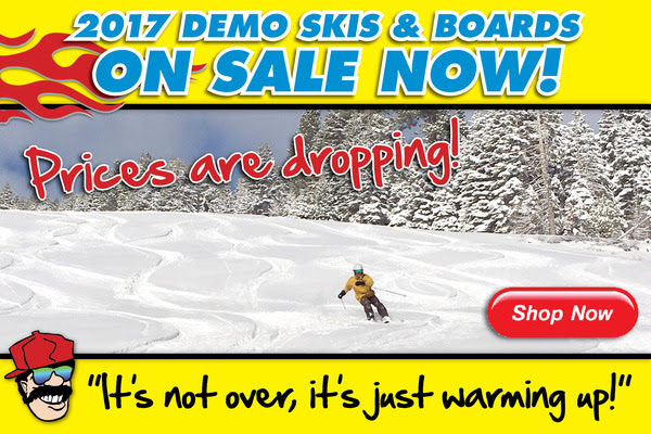 Prices are Dropping on 2017 Demo Skis & Boards