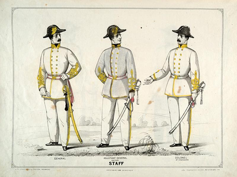 Uniform and Dress of the Army of the Confederate States, 1861