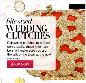 wedding clutches