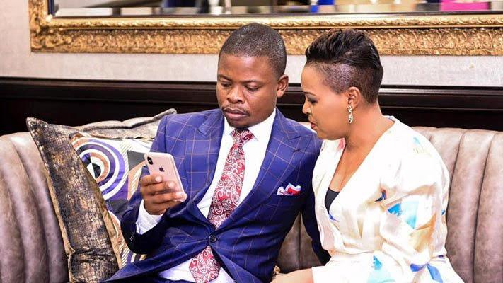 Prophet Shepherd Bushiri and his wife Mary