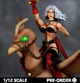 Heavy Metal Taarna & Avis Deluxe 1/12 Scale Figure Set