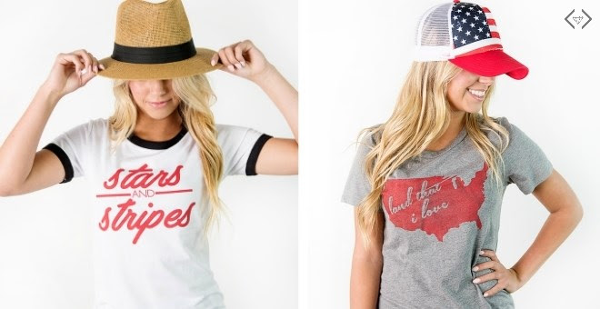 HOT! Patriotic Tees!