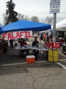 Humus-Falafel