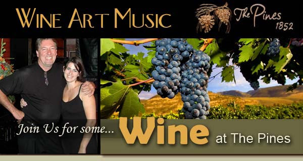 Join Us for Wine at the Pines