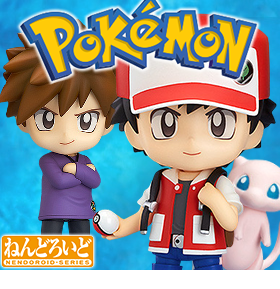 NENDOROID POKEMON TRAINER SET