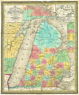 Michigan Pocket Map