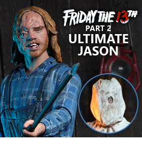 FRIDAY THE 13TH PART 2 ULTIMATE JASON