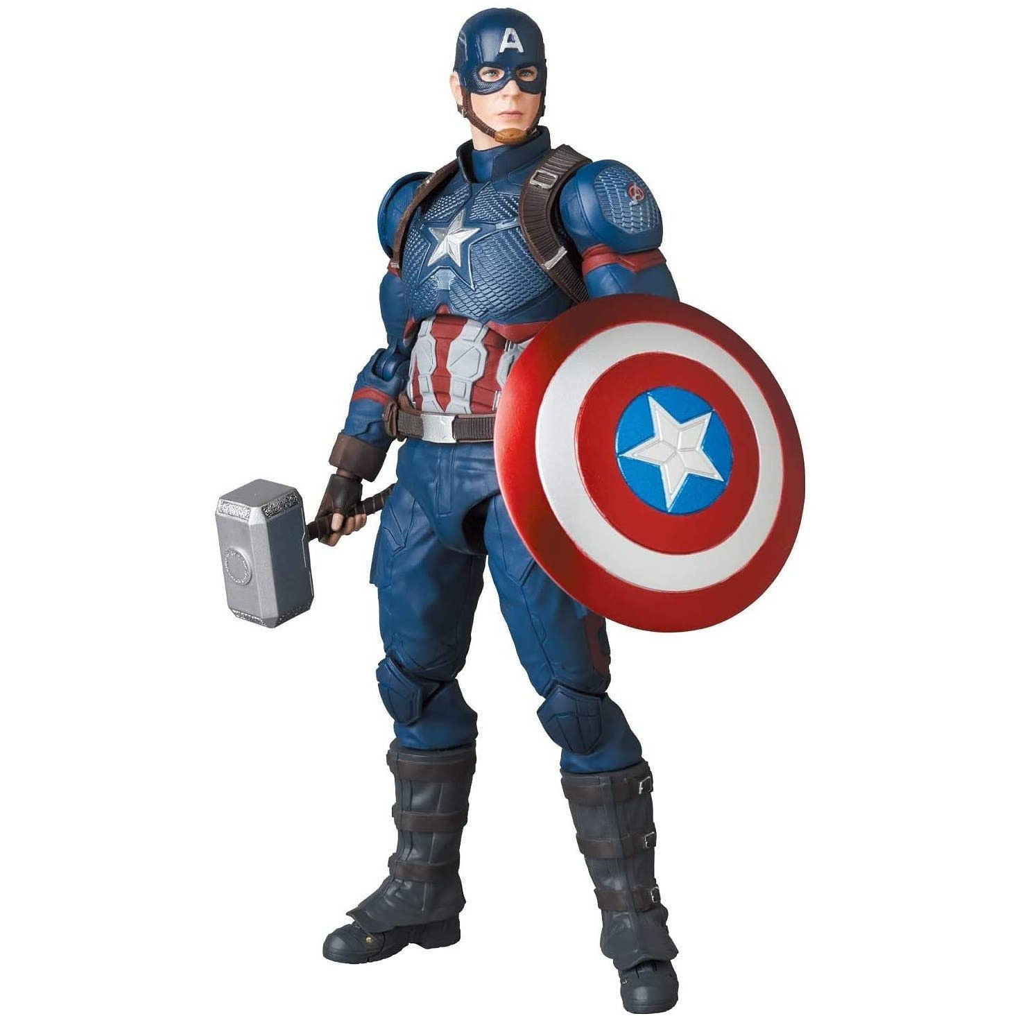 Image of Avengers: Endgame MAFEX No.130 Captain America- MARCH 2021