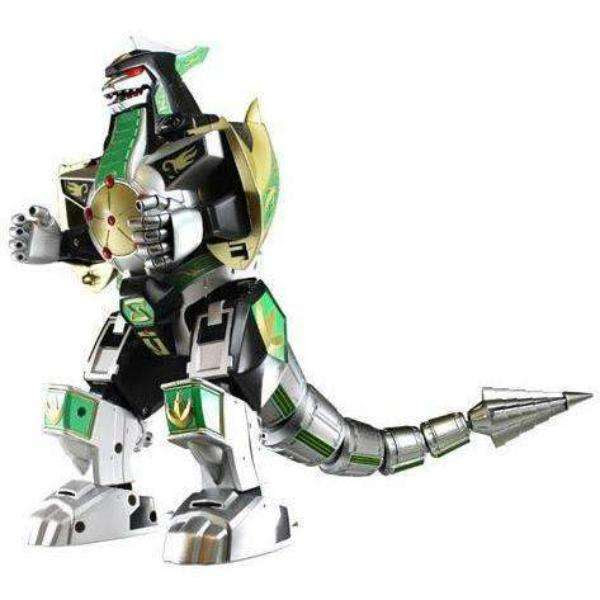 Image of Power Rangers Legacy Dragonzord Die-Cast Metal Action Figure