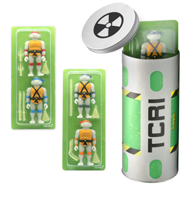 TMNT ReAction Figures Glow-in-the-Dark Ooze Canister SDCC 2020 Exclusive