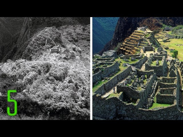5 Unbelievable Before & After Photos of Ancient Wonders  Sddefault