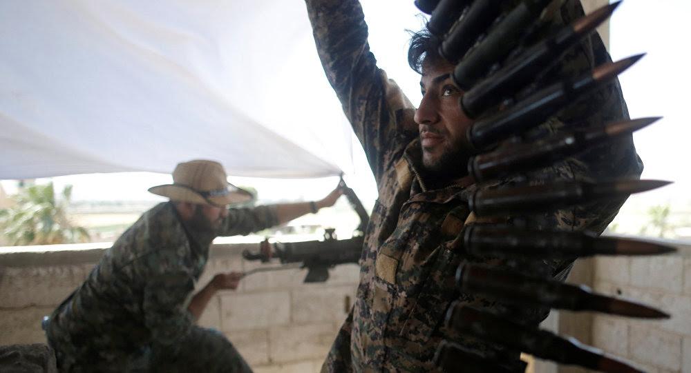 Kurdos sirios (archivo)
