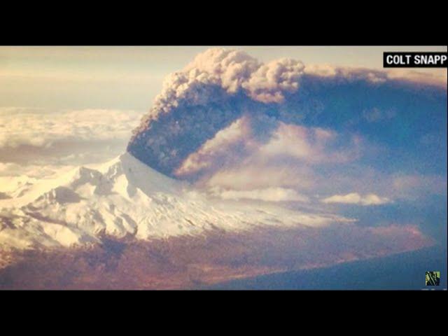 Alaska's Pavlof Volcano Erupts Sending Ash Plume 20,000 Feet High  Sddefault