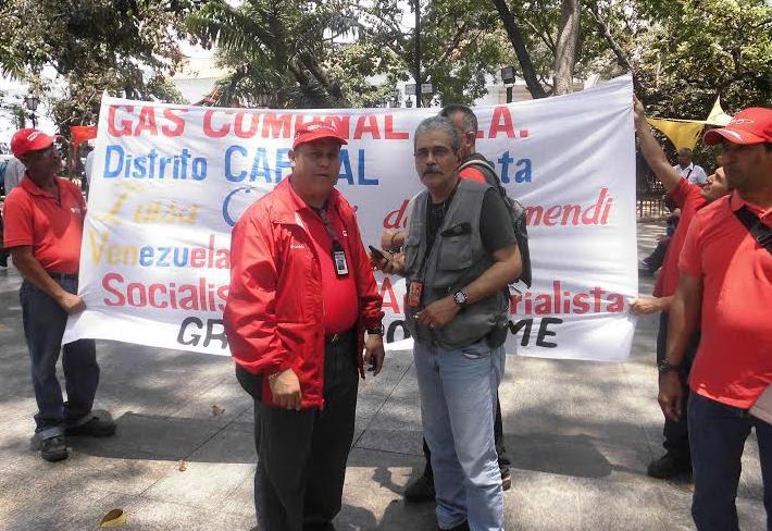 Trabajadores de Pdvsa Gas Comunal entregaron sus firmas