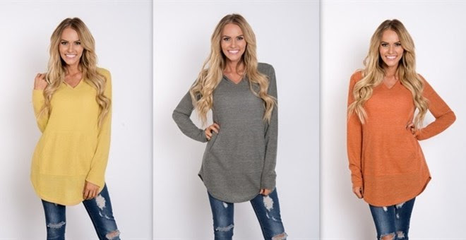 HOT!! Hunter Tunic Sweater...