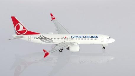Boeing 737 MAX8 Turkish Airlines, TC-LCA, 'Tokat' | Is due: Nov/Dec 2019