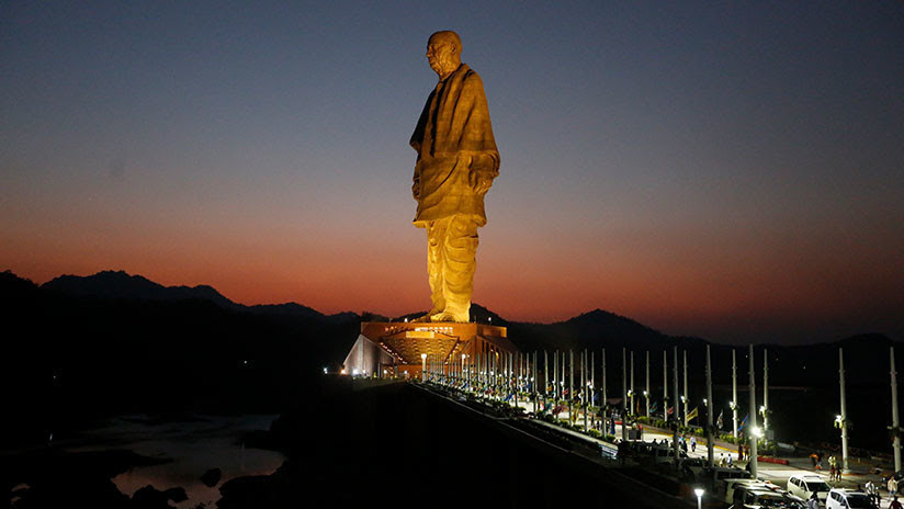 India: La estatua más grande del mundo genera indignación en el Reino Unido