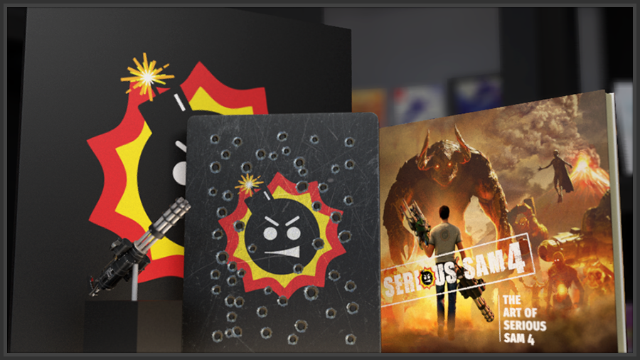 Serious sam 4 pc collector's edition