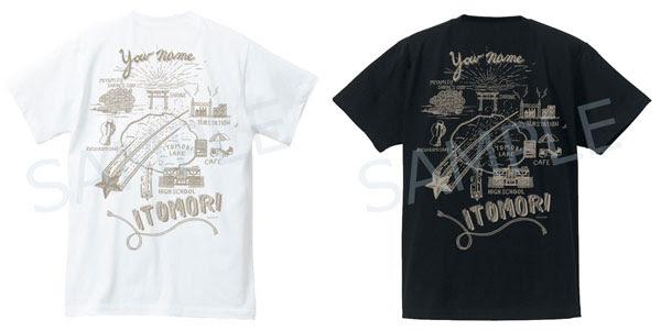 君の名は。 イトモリ・ロケーションTシャツ2種