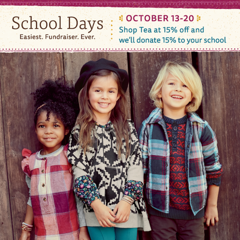 Shop School Days from Tea Collection