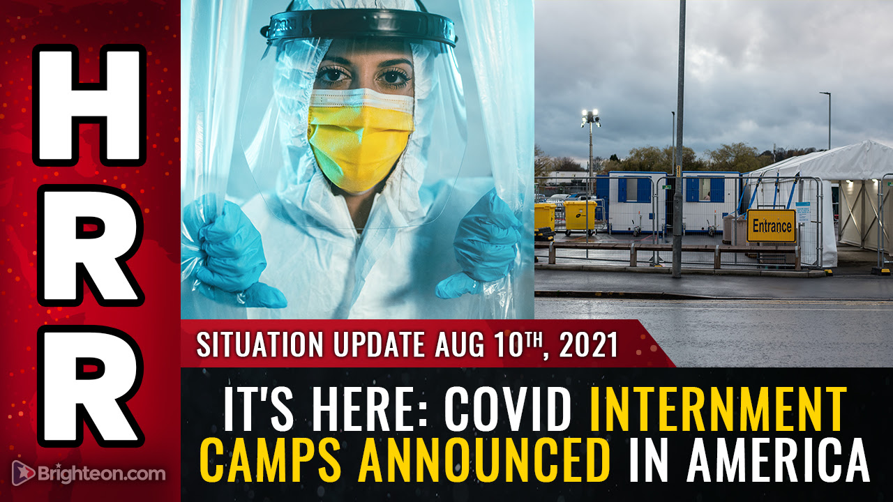 Image: RED ALERT: Covid internment camps announced in America; Tennessee governor signs EO authorizing National Guard to carry out covid medical kidnappings