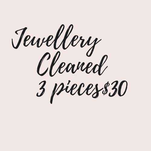 jewellery cleaned 18.6.20