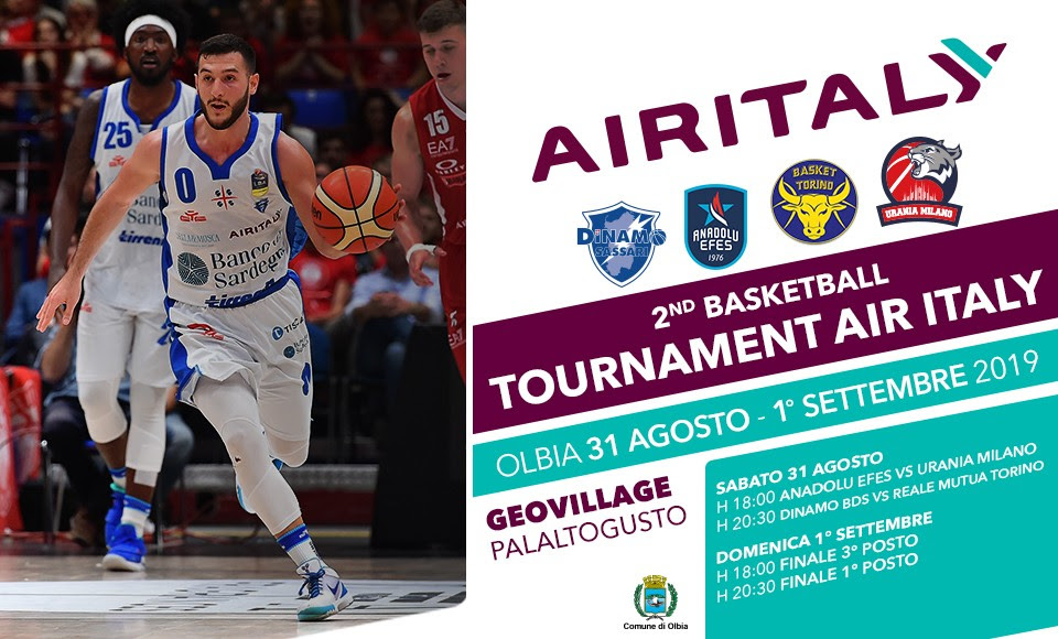 2nd Tournament Air Italy Dinamo Sassari
