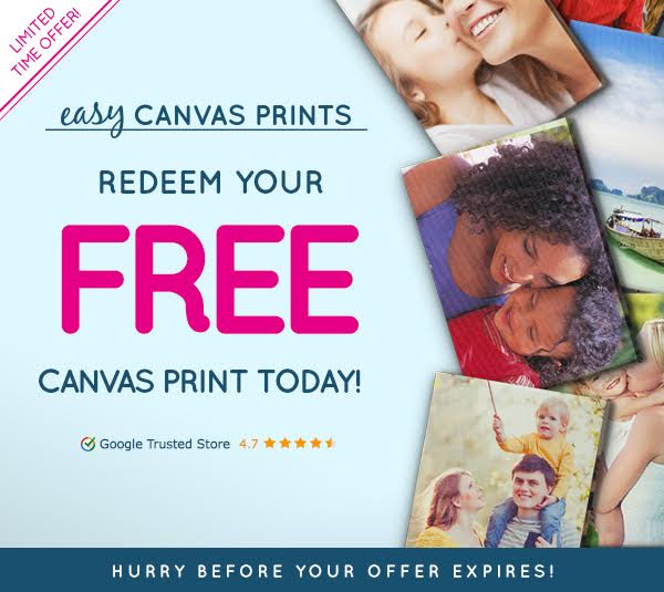 FREE 8X8 Canvas Print from Eas...
