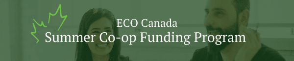 ECO Canada summer co-op funding
