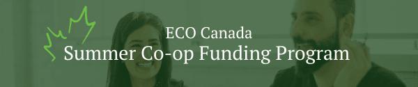 ECO Canada summer co-op funding