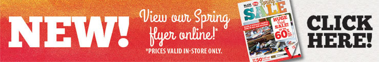 View Spring Sale Flyer Online!