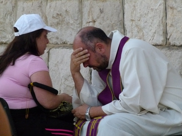 confession in Medjugorje, wow