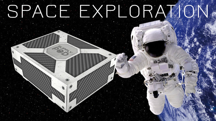 SPACE EXPLORATION is our next Supply Pod theme