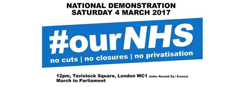 #ourNHS action