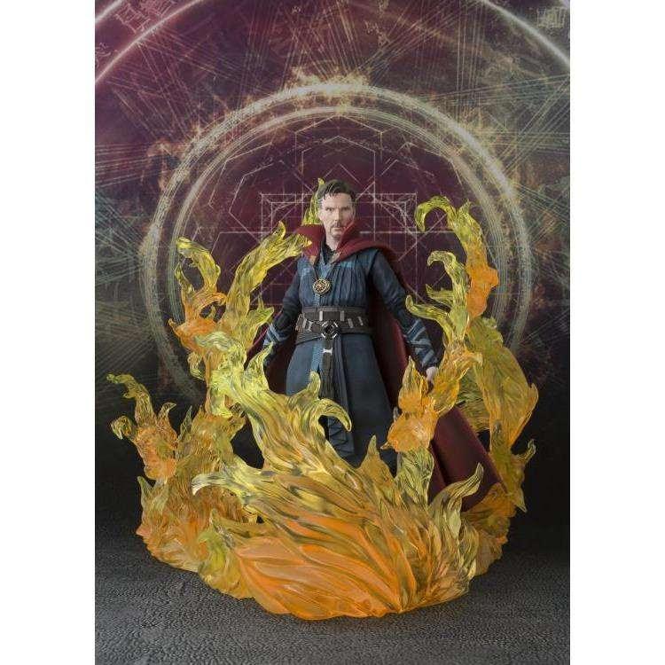 Image of Doctor Strange S.H.Figuarts Doctor Strange & Burning Flame Set