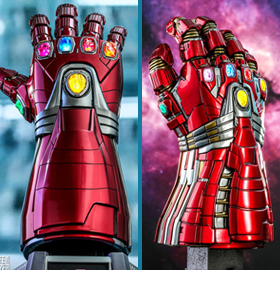 AVENGERS: ENDGAME NANO GAUNTLET COLLECTIBLEs