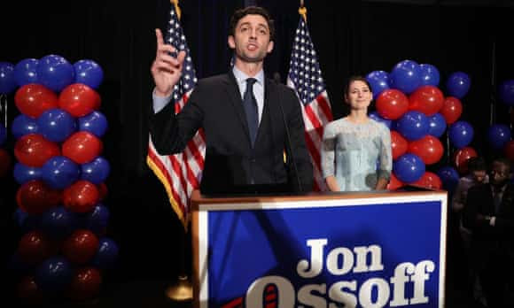 Jon Ossoff gives concession speech