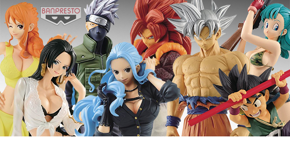 BANPRESTO DRAGON BALL, ONE PIECE, NARUTO & MORE!