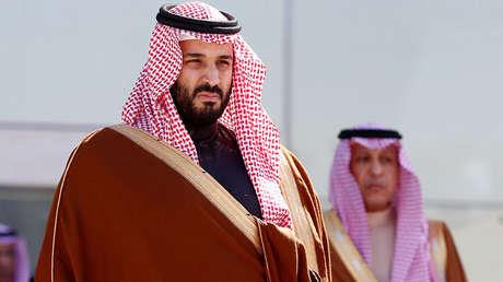 Mohamed ben Salmán en Riad, el 25 de enero del 2017