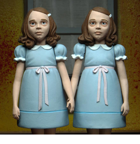 The Shining Toony Terrors Grady Twins Two-Pack