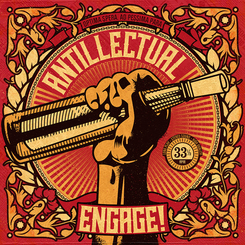 Antillectual - Engage cover