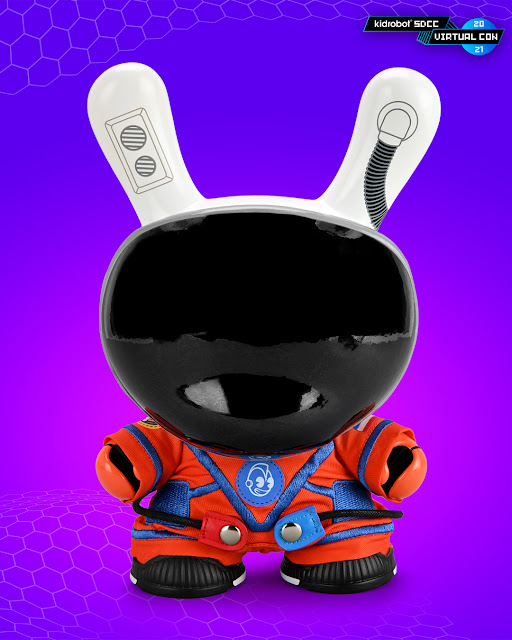 SDCC Exclusive Kidrobot The Stars My Destination 8 inch Astronaut Dunny Orion Edition