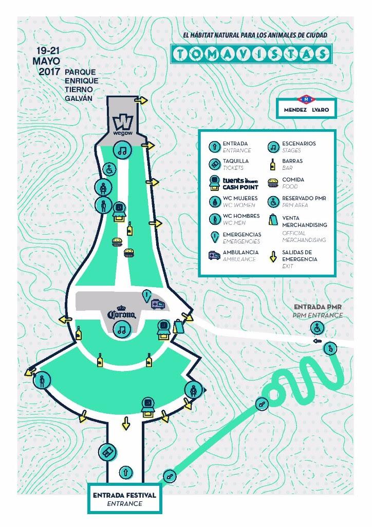 Recinto Festival Tomavistas 2017