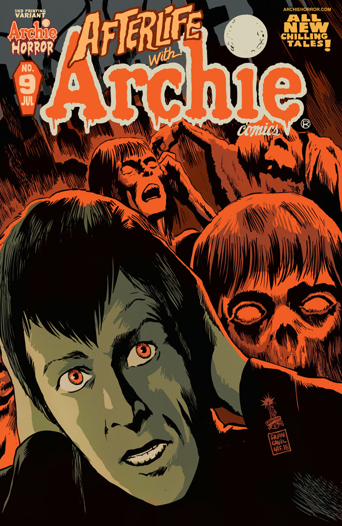 Afterlife With Archie #9 2nd Printing Cover by Francesco Francavilla