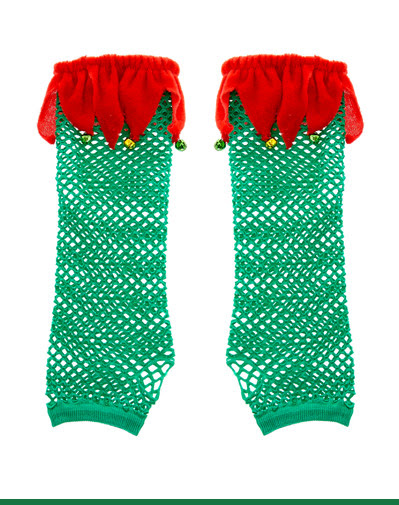 ELF FISHNET ARM WARMERS