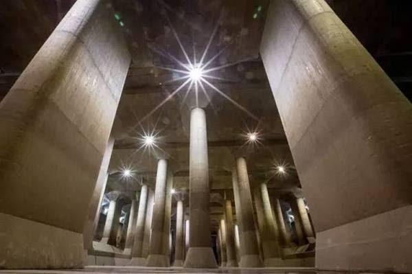 Tokyo có hệ thống thoát nước ngầm lớn nhất thế giới, bao quanh thủ đô.