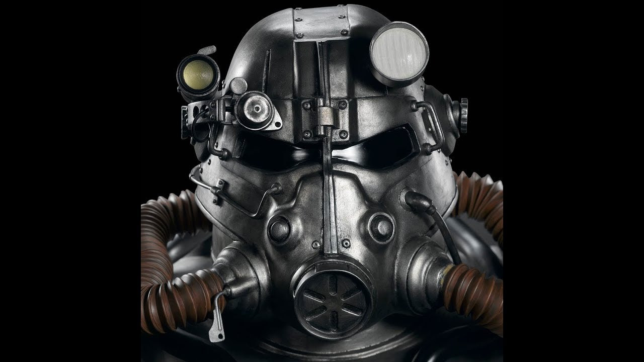 Gaming Heads - Fallout®: T-45 Power Armor Life Size Bust