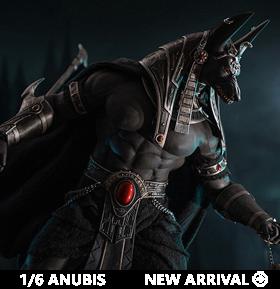 Anubis Guardian of the Underworld (Silver) 1/6 Scale Figure