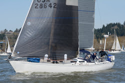 J/42 VELOCITY sailing Oregon Offshore