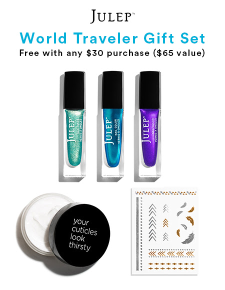 Julep: Free Grad Beauty Gift with any $30+ Purchase